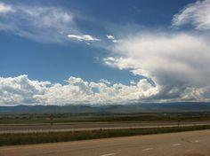 Amazing sky over northern Wyoming.