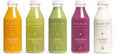 Nubio  Une cure de jus detox bio. Fruits et légumes pressés à froid et sans pasteurisation. Un concentré de bonheur et de bienfaits naturels