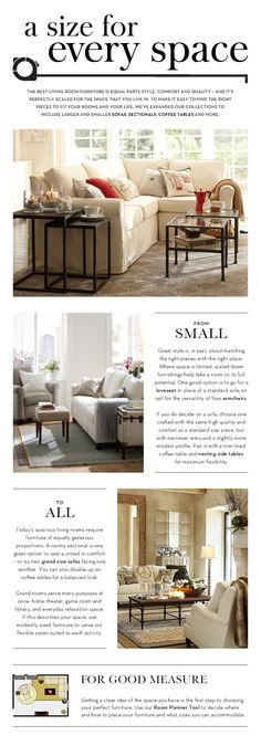 A Size for Every Space | Pottery Barn