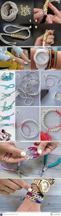 DIY Bracelets by Corlo