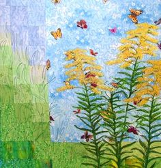 Advanced Embroidery Designs - Wild Flower Series: Goldenrod