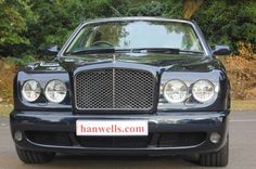 2008-57 Bentley Arnage T Mulliner Level 2. Finished in Black Sapphire with Cotswold interior, Burr Walnut veneers and carpets in Nautic with Cotswold piping. Fitted with electric sunroof, picnic tables, vanity mirrors, screens to the rear of the front headrests and reversing camera. Only 23,900 miles with Full Service History. Absolutely stunning £63.950 Full Details:   http://hanwells.net/bentley-select/bentley-arnage/2008-57-bentley-arnage-t-mulliner-level-2-in-black-sapphire-63-950
