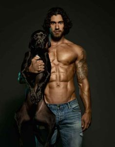 This Calendar Features Nothing But Hot Men And Rescue Dogs