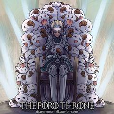 Il trono dei Poros :3 - Diana and poro