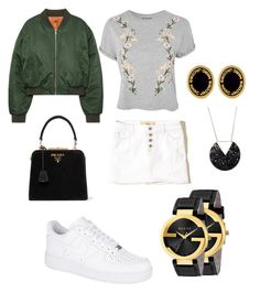 """""""Untitled #24"""" by gabriela-agredo on Polyvore featuring Hollister Co., Topshop, Prada, NIKE, Gucci and Marc Jacobs"""