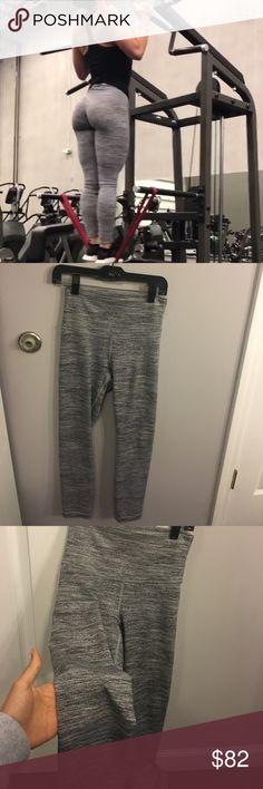 Lululemon gray pants Very good condition gray pants lululemon athletica Pants Leggings