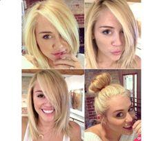 Miley Cyrus` Hair by Sierra Rose on Luuux