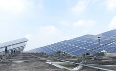 A Taiwan food facility is building the world's largest rooftop dual-axis solar tracker power station.