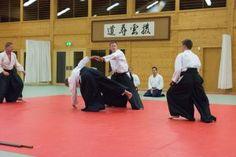 Aikido Kyuprüfungen im Budokan Wels (Oberösterreich) im Dezember 2015 – mehrere Angreifer