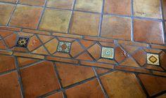 Methods of sealing and finishing Saltillo terra cotta floor tiles. Special notes for Puerto Vallarta.