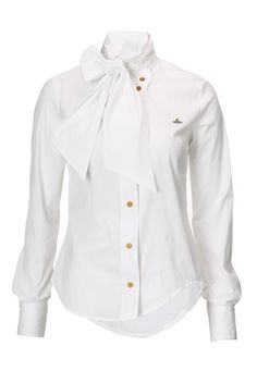 Bow Shirt, Vivienne Westwood, $355.00, viviennewestwood.co.uk. Like, the perfect blouse.