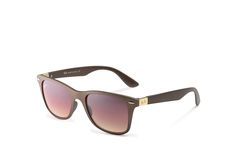 Ray Ban Wayfarer Lite Force Tech RB4195 Rose Sunglasses
