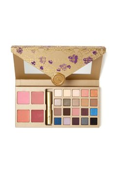 A   special delivery -- sealed with love, from Stila. Recapture the classic   romance of hand-written love letters with this ultimate collection of   cherished Stila essentials. It's everything you wished for, all wrapped in a   vintage-inspired special delivery package that's ready to give (or   keep).   Includes 20 color-rich matte, pearl and shimmer eye shadows, 4 shades of   universally flattering, silky-smooth blush, and a deluxe-size HUGE™ Extreme   Lash Mascara for the biggest…