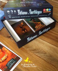 """""""Potions & Sortilèges"""" et """"La Quête d'Olan"""" de SOMUKO + Concours Cluedo, La Quete, Blog, Quizzes, Game Mechanics, I Like You, I Win, Tabletop Games, Home"""