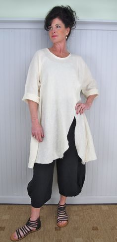 Tina Givens Penelope Layering Tunic / Shirt @ hats and haberdashery - to me, this is a perfect look!