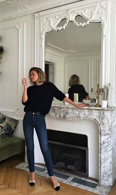 Adenorah, shoes Chanel, jeans Sezane