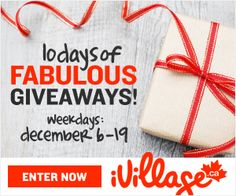 Holidaily 10 days of Giveaways