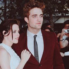 Edward and Bella from the Twilight Series