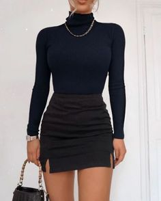 Autumn Winter Fashion To Update You Wardrobe This Summer - new dress trend Teen Fashion Outfits, Look Fashion, Fall Outfits, Womens Fashion, Street Fashion, Winter Fashion, Fashion Dresses, Classy Fashion, Grunge Outfits