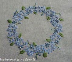 Le pouvoir des fleurs Octobre 2013 - Les Broderies de Sophie