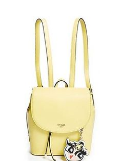 Guess Yellow Backpack