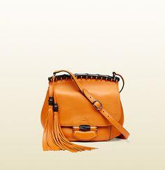 Gucci - bolso de hombro gucci nouveau de piel 347101A7M0V7626
