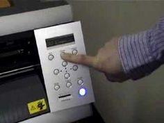 Roland GX-24: Cutter Set Up Part 1 (Video 1/8) - YouTube