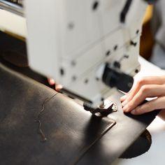 Atelier Bleu de Chauffe #workshop #leather #Craftsmanship