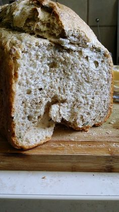 Food And Drink, Yummy Food, Bread, Dom, Recipies, Delicious Food, Brot, Baking, Breads