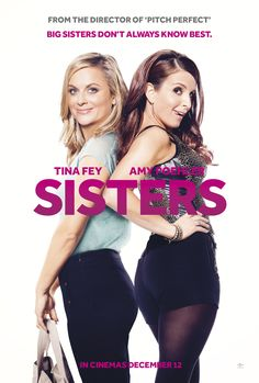 Sisters - Comedy sensations Amy Poehler and Tina Fey pair up again for this rib tickling laugh riot. Maura (Amy Poehler) and Katie (Tina Fey) are two siblings who share a close relationship. 2015 Movies, Hd Movies, Movies Online, Movies And Tv Shows, Cloud Movies, Girly Movies, Cinema Movies, Comedy Movies, Amy Poehler