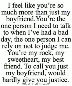 #boyfriend quote                                                                                                                                                                                 More