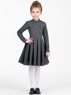 Girls Dresses Sewing, Gowns For Girls, Dresses Kids Girl, Kids Outfits Girls, Girl Outfits, Girls Fashion Clothes, Toddler Fashion, Kids Fashion, Fashion Outfits