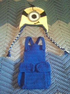 Free Crochet Pattern Minion Overalls : Iron Man Crochet Mask Hat by TheCrazyCuteShop on Etsy ...