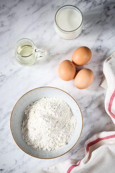Naleśniki – idealny przepis - przepis Marty Food, Diet, Polish Cuisine, Eten, Meals