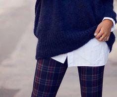 plaid pants | via Tumblr