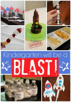 Toddler Approved!: Kindergarten Will Be a Blast Rocket Party!
