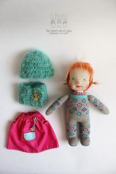 Waldorf Doll Donda Waldorf inspired doll by TheSecretLifeOfSocks