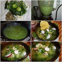 ¿Gusta Usted? Auténtica comida casera mexicana: POZOLE VERDE. RECETA