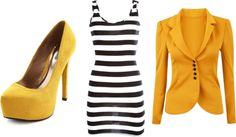 """""""simply yellow"""" by beth12325 on Polyvore"""