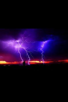 ~ 'Purple & Blue Storm' ~