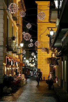 Natale a Sorrento,Italy