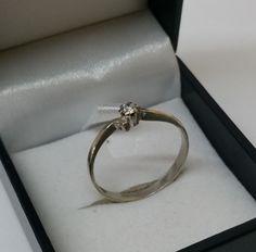 Vintage Ringe - Ring 925er Silber mit Kristall-Stein 19 mm SR613 - ein Designerstück von Atelier-Regina bei DaWanda