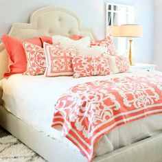 Lili Alessandra Battersea Quilted Ivory/Ivory Coverlet Set - contemporary - bedding - Layla Grayce