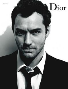 Jude Law for Dior.