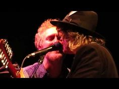 ▶ The Waterboys with Glen Hansard - And A Bang On The Ear - Dublin 23rd December 2013 - YouTube