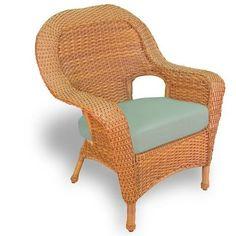 Lexington 7 Piece Wicker Furniture Dining Set w/Two Swivel Rockers