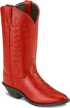Red Cowgirl Boots just like Ariel in footloose!!