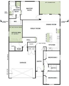 Woodside Homes Floor Plans plan 1 model - 3 bedroom 2 bath new home in perris, ca - westerly