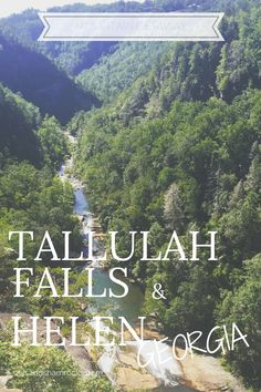 Tallulah Gorge State Park | Helen, Georgia | Mountain Getaway | Labor Day Weekend