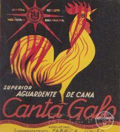 de Cachaça label.Brasil